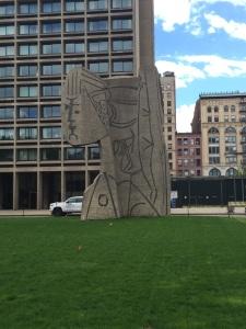9.2) Picasso sculpture